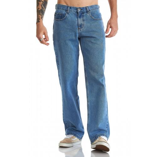 Calça Regular Jeans
